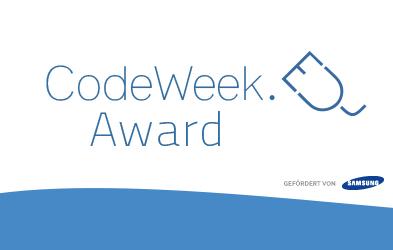Code Week Award 2015